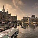 Gent winter dawn  by Rob Hawkins