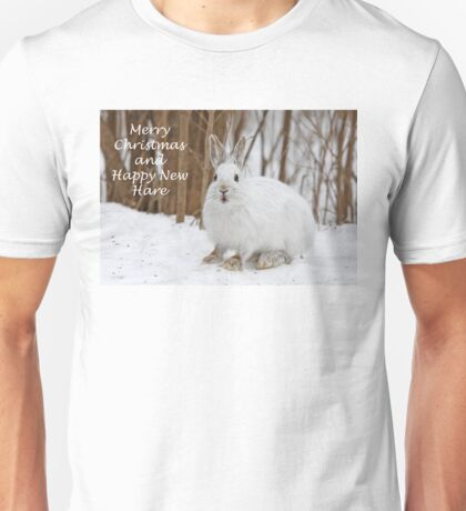 Snowshoe hare Christmas T-Shirt