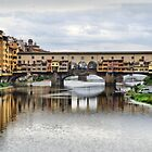 Ponte Vecchio. by Lilian Marshall