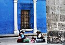 Blue Walls in Santa Catalina ! by Alessandro Pinto