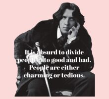 Oscar Wilde - People are either charming or tedious Baby Tee