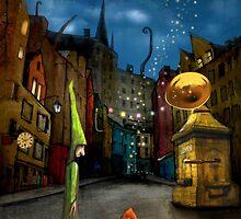 'Silent Street' by Matylda  Konecka Art