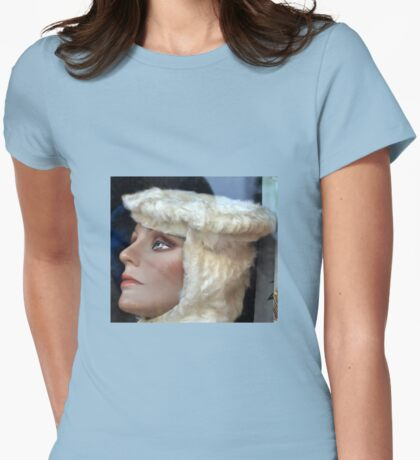 Vintage Glamour Model Womens Fitted T-Shirt