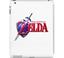 Legend of Zelda Logo iPad Case/Skin