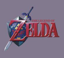 Legend of Zelda Logo Kids Clothes