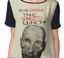 Naked Lunch - William Burroughs tribute Chiffon Top