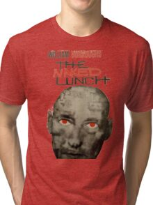 Naked Lunch - William Burroughs tribute Tri-blend T-Shirt