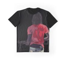 Chief Keef Holding Gun Graphic T-Shirt