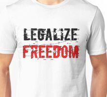 Legalize Freedom 3 Unisex T-Shirt