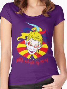 MWA-HA-HA-HA-HA Women's Fitted Scoop T-Shirt