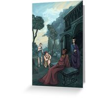 Allegory of the Kingdom of the Dead Greeting Card
