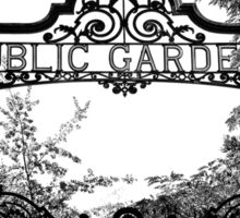 Garden Gates Sticker