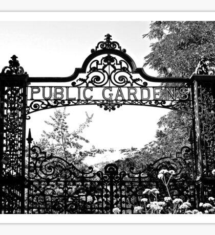 Garden Gates Sticker