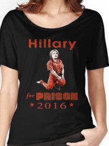 Hillary arrested Women's Relaxed Fit T-Shirt