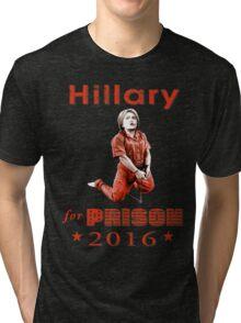 Hillary arrested Tri-blend T-Shirt