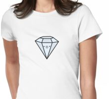I Like Big Diamonds (and I cannot lie) Womens Fitted T-Shirt