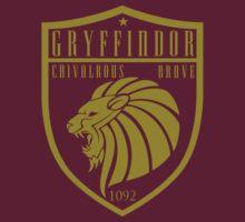 Gryffindor Crest by machmigo