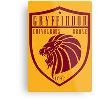Gryffindor Crest Metal Print