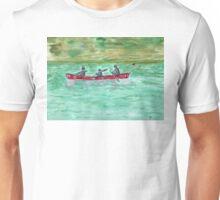Red canoe 2 Unisex T-Shirt