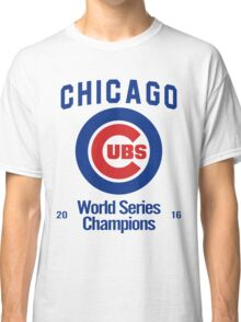 Chicago Cubs (World Series Edition) Classic T-Shirt