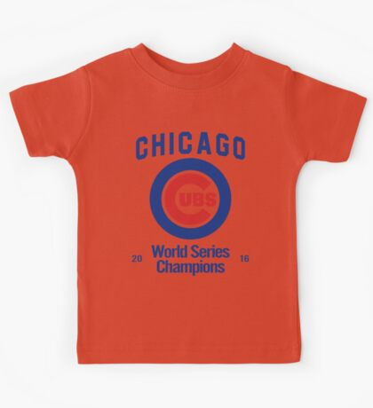 Chicago Cubs (World Series Edition) Kids Tee