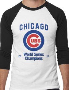 Chicago Cubs (World Series Edition) Men's Baseball ¾ T-Shirt