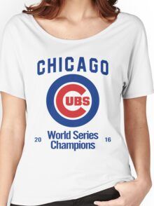 Chicago Cubs (World Series Edition) Women's Relaxed Fit T-Shirt