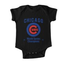 Chicago Cubs (World Series Edition) One Piece - Short Sleeve