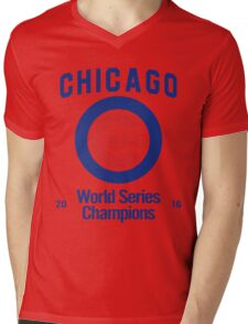 Chicago Cubs (World Series Edition) Mens V-Neck T-Shirt