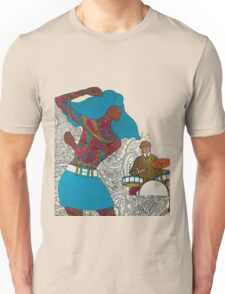 Psychedelic Paisley Rock n roll Unisex T-Shirt