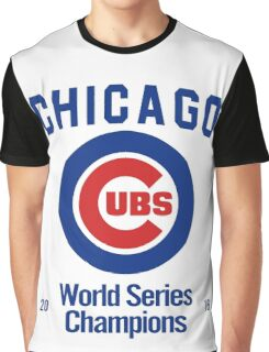 Chicago Cubs (World Series Edition) Graphic T-Shirt