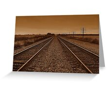 Eastbound Greeting Card