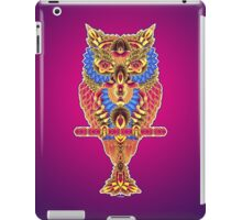 When The Owl Sings... iPad Case/Skin