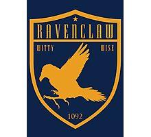 Ravenclaw Crest Photographic Print