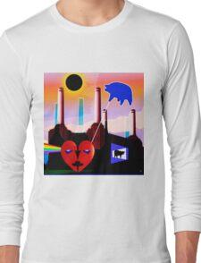 PINK FLOYD ECLIPSED BATTERSEA Long Sleeve T-Shirt