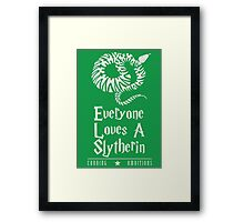 Cunning & Ambitious Framed Print