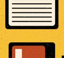 Floppy Disc Sticker