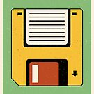 Floppy Disc by FabledCreative