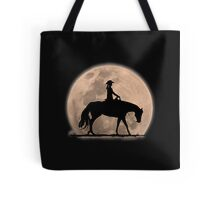 Moonlight Cowgirl Tote Bag