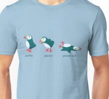 Puffin, pantin' and passed out! Unisex T-Shirt