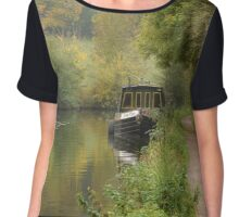 The Lone Boat Chiffon Top