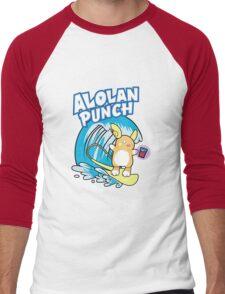 Alolan Punch Men's Baseball ¾ T-Shirt