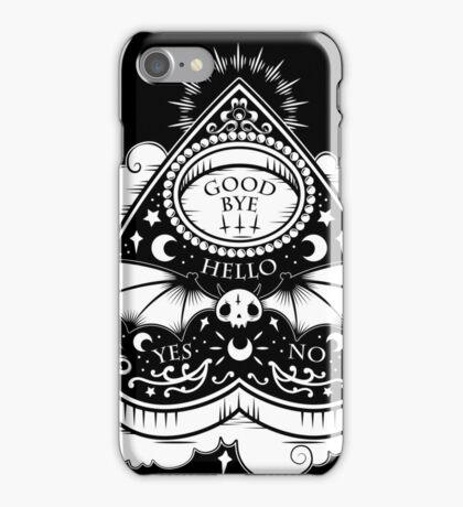Ouija - Black iPhone Case/Skin