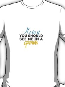Moriarty Quotes T-Shirt