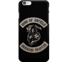 Sons of Anfield - Brisbane Chapter iPhone Case/Skin