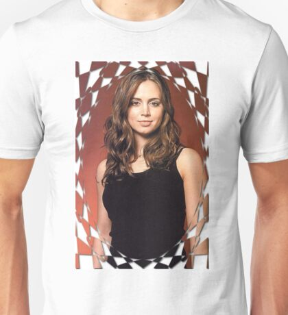 Buffy Angel Faith Eliza Dushku 2 Unisex T-Shirt