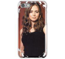 Buffy Angel Faith Eliza Dushku 2 iPhone Case/Skin