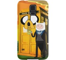 Cartoon Character of Police Public Call Box Samsung Galaxy Case/Skin