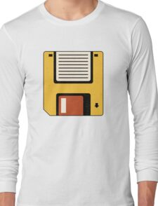 Floppy Disc Long Sleeve T-Shirt