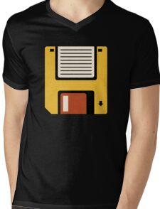 Floppy Disc Mens V-Neck T-Shirt